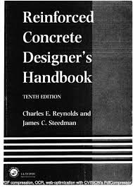 Small Picture Reinforced concrete designers handbook 10th edition reynolds steedman