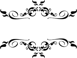 Border Black And White Swirl Border Clipart Black And White Clipartuse