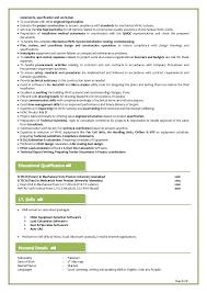 Hvac Project Engineer Sample Resume