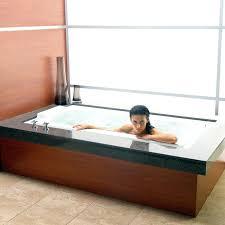dropin soaking tubs rectangle bath with overflow rim 60 x 42 drop in tub