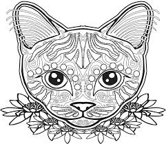 Small Picture 591 best Color Pages Cats images on Pinterest Coloring books