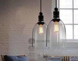 modern crystal bell glass pendant lights dining room indoor contemporary lighting fixtures cheap contemporary lighting