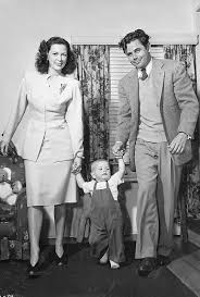 dreaming out loud... • Glenn Ford, Eleanor Powell and their son Peter -...    Hollywood actor, Movie stars, Eleanor powell
