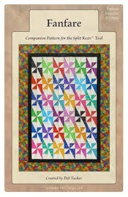 83 best Quilt Patterns images on Pinterest | Chinese, Cycling and ... & Fanfare - the first pattern for my Split Rects tool. Also uses the Tucker  Trimmer Adamdwight.com