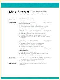 Free Microsoft Word Resume Template Gorgeous Resume Templates Microsoft Word 48 Free Maniak Ress