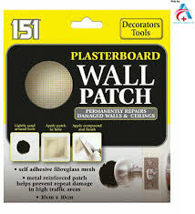 151 plasterboard wall patch repairs