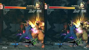 street fighter pc vs ps4 3 out of 6 image gallery