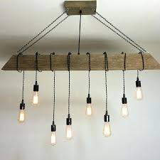 rustic beam lighting a custom reclaimed barn beam light fixture bar restaurant home bulb rustic