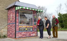 Vending Machine Shop Fascinating Automated Shop For Villagers Who Lost Their Local Stores Telegraph