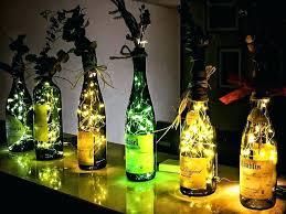 glass bottle lighting wine bottle lights light up your room with wine bottle lighting crafts glass