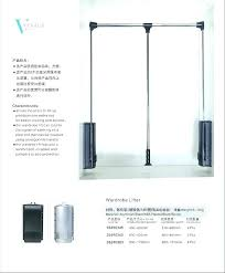 closet pull down rod pull down clothes rod luxury pull down closet rod heavy duty in closet pull down rod