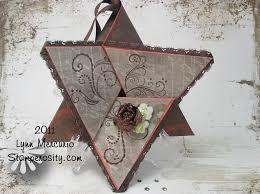 Star Fold Card A Blog By Kath Kathy Harney