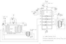 bluetooth controlled led driver a tutorial part 1 rs232 module the circuit has three additions to the previous led driver