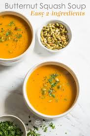 easy ernut squash soup recipe with