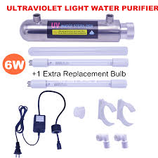 Uv Light Filter Details About 6w Ultraviolet Light Water Purifier Reverse Osmosis Whole House Uv Sterilizer