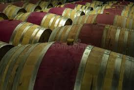 stacked oak barrels maturing red wine. Download Wooden Wine Barrels In A Basement Stock Image - Of Making, Basement: Stacked Oak Maturing Red 6