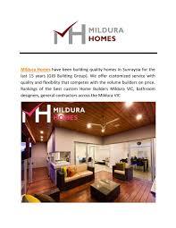 Sunraysia Lighting Mildura Homes By Wilburswilliams Issuu