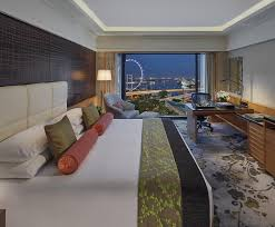 Luxury 5 Star Hotel Marina Bay Mandarin Oriental Singapore
