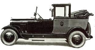 1927 - 1929 Citroen B14 Taxi Landaulet