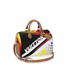 louis vuitton cruise 2017 bags. louis vuitton black multicolor race print speedy bandouliere 30 bag cruise 2017 bags o