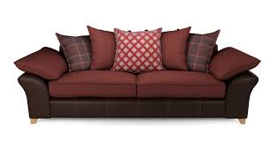 reuben 4 seater pillow back sofa dfs