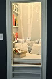 I'm really liking this closet idea for a book room! awesome! #