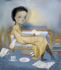saatchi art artist catherine denvir painting the blue room art