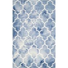 safavieh dip dyed blue contemporary rug 8 x 10 rugs carpets best canada