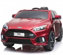 Детский <b>электромобиль Dake</b> Ford Focus RS Wine Red 12V 2.4GHz