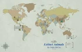 Extinct Animals by Angela Case