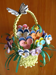 Quilling Home Decor Handmade Home Decor Quilled Home Decor Quilled Basket Wi Flickr