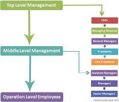 Levels In Business Hierarchy Chart Hierarchystructure Com