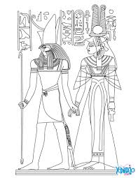 21 Egyptian Coloring Pages