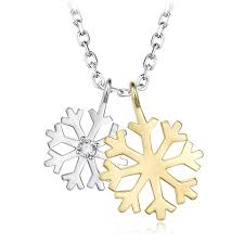 whole shineland 925 sterling silver necklaces white gold color snow flower pendant necklace size 41cm fashion women jewelry n50 coin pendant necklace