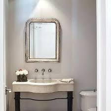 powder room chandelier gray powder room with silver beaded mirror powder room lighting ideas powder room chandelier