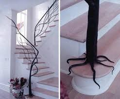 this is the related images of Tree Branch Banister