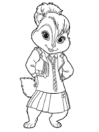Small Picture Alvin and the Chipmunks coloring pages Download and print Alvin