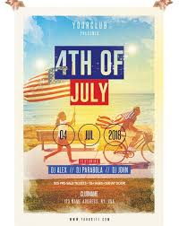 4th Of July Free Psd Flyer Template Psdflyer Co