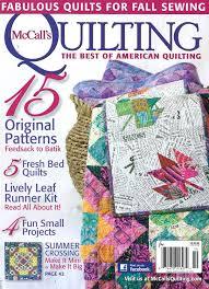McCall's Quilting Magazine Subscriptions | Renewals | Gifts & McCall's Quilting Magazine McCall's Quilting Magazine Adamdwight.com