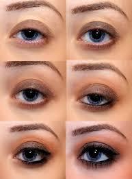 smokey eye makeup ideas for brown eyes simple