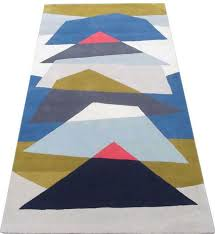 hand tufted rugs latexed back with cotton cloth backing nt 003 modern