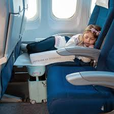 bedbox is the only suitcase to turn an economy seat into a bed for kids to enjoy comfortable travel