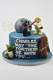 7 Tartas de cumpleaos Star Wars. Star Wars Birthday Cake40th ...