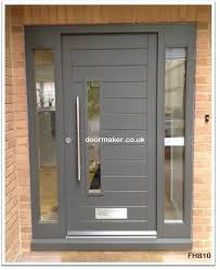 grey front doorContemporary Front Doors Trend With Picture Of Contemporary Front