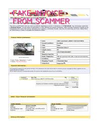 How To Make A Fake Invoice Scam Fake Ebay Transaction For 24 Coachmen LIBERTY EDITION MIRA 19