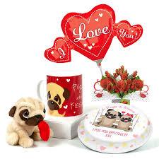 image for pug birthday gift set