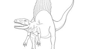 Small Picture Spinosaurus Coloring Pages Ideas Photo Gallery Gekimoe 98651