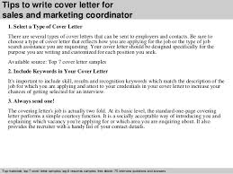 Marketing Coordinator Cover Letter Examples Cover Letter Design