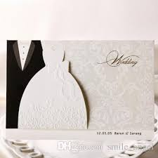 2019 Hot Sale Wedding Invitation Cards Wishmade Bridal And Groom