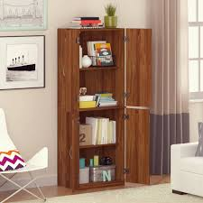 Living Room Storage Cabinets With Doors Mainstays Storage Cabinet Multiple Finishes Walmartcom
